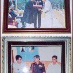 Captain Vikram Batra's father receiving the award