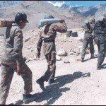 Captain Vikram Batra's team near Tiger Hills