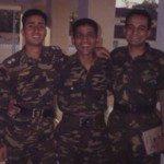 Lt Amit Bharadwaj with his buddies
