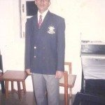Captain Anuj in his younger days