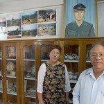 Capt Clifford's parents at his home