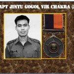 The third highest gallantry award Vir Chakra was conferred to Captain Jintu Gogoi