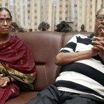 Major Padmapani Acharya's parents – Jagannath Acharya and his wife Vimala Acharya