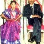 Major Padmapani Acharya on his wedding day