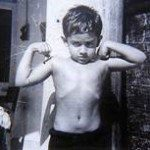 Childhood picture of Captain Vijayant Thapar VrC