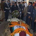 Final military honours for Cpl Singh at Ambala