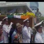 The last journey of Naik B V Ramana