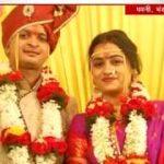 Major Praful Moharkar with his wife