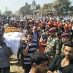 The last journey of Lance Naik Sunil Kumar