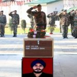 Army pays tribute to Sapper Amandeep Singh