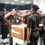 Final salute to Naik Ranjit Khalkho
