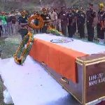People pay their last respects to Sepoy Ajay Kumar