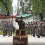Comrades pay their last respects to Sapper Sada Gunakar Rao