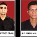 Rfn Jaki Singh and Rfn Vinod Singh