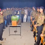 Final Military Honours to Naik Kalicharan