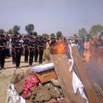 Final Rituals performed for Naik Kalicharan