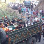 The last journey of Sepoy Ajay Kumar