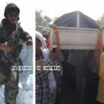 Final tributes to Subedar Abdul Sattar