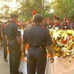 Fianl Honours paid to Naik Tupare Rajendra