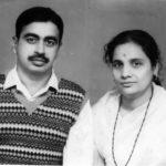 Major Shyamkant Gajanan Kelkar with his wife