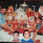 Naik Girijesh Kumar during a religious ceremony