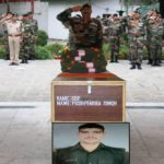 Army pays tribute to Sepoy Pushpendra Singh