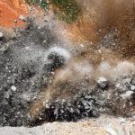 view of a mine blast where Dalbir Singh got martyred