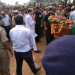 Tribute paid by the army persons to Rfn Dalbir Singh