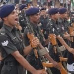 Army's last salute to Rfn Rajesh Poonia