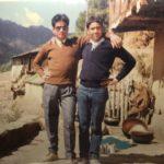 Naik Mangat Singh with his friend