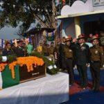 The last journey of Rfn Jiwan Gurung
