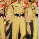 Maj Shashidharan V Nair as an NCC cadet