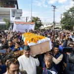 Major Chitresh Singh Bisht's last journey at his home town