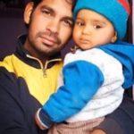Sep Hari Singh with his son Laksha Chauhan
