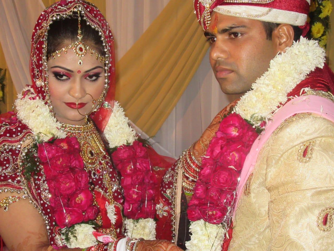 Cpl Pankaj Kumar during his wedding