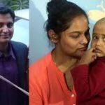 Sqn Ldr Ninad Mandavgane's wife Vijeta & daughter Vedita