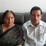Maj Ritesh Sharma's parents