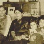 Major Ritesh Sharma with his family