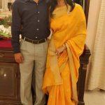 Maj Vikas Singh with his wife Smt Anchal Singh