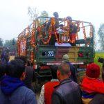 Hav Dharmendra Singh's last journey