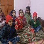 Nk Purushottam Kumar's family