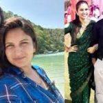Flt Lt Ashish Tanwar with his wife Flt Lt Sandhya Tanwar