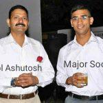 Col Ashutosh Sharma and Maj Anuj Sood