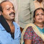 Col Santosh Babu's parents