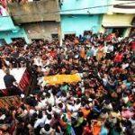 Hav Sunil Kumar's last journey