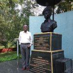 Statue of Sepoy Pandurang Salunke MVC