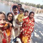 Sep KK Ojha's family
