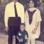 Major Narain Singh with his family