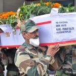 The last journey of Hav Pranay Kalita