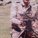 Naik Ram Swaroop Singh at a field location